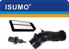 3 Pc Air Intake Hose + Sensor + Air Filter Fits:Honda Accord 4Cyl 2.4L 2003-2004