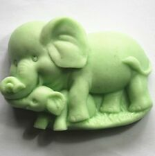 Longzang Elephant Mould S348 Craft Art Silicone Soap Mold Craft Molds DIY Candle