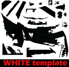 Frankenstrat vinyl templates