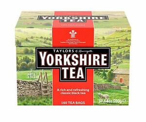 Yorkshire 160 Tea Bags, 500 g english tea luxury posh tasty 160 In a Polybag