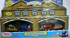 Thomas Take N Play Surprise Surprise At The Steamworks Train Set Christmas