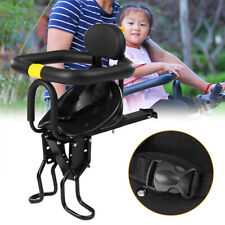 Bicycle Bike Front Safety Baby Seat Carrier Child with Handrail Foot Pedals