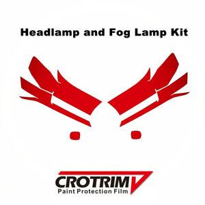 Pro Protection Film Headlight & Fog Light Kit For Toyota Land Cruiser 2016-2020