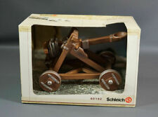 German Schleich 40192 Medieval Knight Castle Siege Toy Figure Catapult New Box