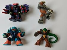 4 x small Gormiti toy figures
