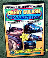 "20087 TRAIN VIDEO DVD 5 DISC SET ""EMERY GULASH COLLECTION"" PENNSY,WABASH,NKP,WM"