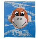 Jeff Koons Monkey Train Beach Towel, Artist Edition
