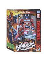 Transformers: War for Cybertron - Kingdom Leader Optimus Prime Action Figure