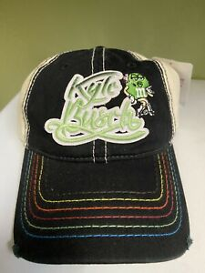 Kyle Busch M & M #18 Nascar Chase Ladies Driver Adjustable Hat