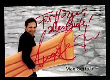 Max Gertsch Autogrammkarte Original Signiert # BC 69012