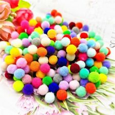 8mm Pompoms 240Pcs Pom Poms Fur Ball Toys Education Crafts Diy Apparel Sewing