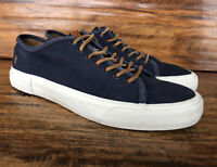 Mens Frye Casual Fashion Sneakers Size 12 Blue Canvas