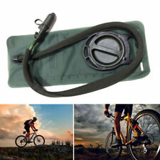 2.5L Water Bladder Bag w/ Tube Portable Pack For Outdoor Camping Hiking Running