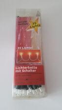 Lichterkette mit Schalter 35 Lichter Weihnachtsbaum Beleuchtung
