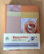 Einsteckalbum für 200 Bilder / Fotos im Format 10x15cm, Fotoalbum, neu/OVP