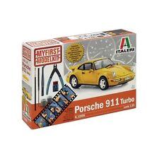 "Italeri ""My First Model Kit"" PORSCHE 911 TURBO  - 1:24 Plastic Model Kit 12006"