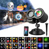 Indoor & Outdoor moving LED Laser projector light 16 patterns home garden decor