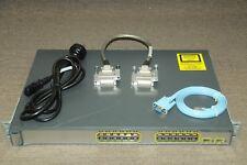 Cisco WS-C3750-24TS-S Switch Latest IOS 122-55.SE10 w/ CAB-STACK-50CM 1 YEAR Wty