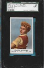 1952 DUTCH GUM CARD 168 SHELLY WINTERS MGM HOLLYWOOD MOVIE FILM SGC A GRADED ABC