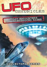 UFO Chronicles: Pilot Encounters & Underground Bases(DVD,2012) New & Sealed