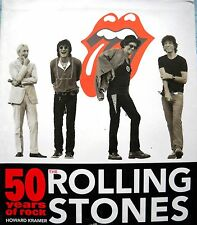 Book - Rolling Stones - 50 Years of Rock - Howard Kramer - Bildband  (Import)