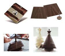 Silikomart: 3D Tree Choc 2 stampi per  creare albero cioccolato 3D silicone