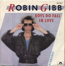 "ROBIN GIBB - Boys do fall in love - VINYL 7"" 45 LP ITALY 1984 NEAR  MINT / VG+"