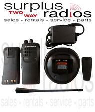 USED MOTOROLA HT750 UHF S 450-520MHZ 4 channel 4W radio AAH25SDC9AA2AN
