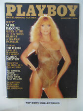 Playboy  Magazine   August 1983    Sybil Danning Pictorial/Carina Persson POTM