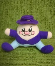 "VINTAGE CADBURY'S - HUMPTY DUMPTY 4"" PLUSH SOFT PROMOTIONAL TOY - VG"