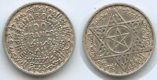 New listing G11510 - Morocco 100 Francs Ah1372-1953 Y#52 Silver Mohammed V. Marokko