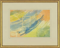 Barbara P. Morgan - Framed 20th Century Watercolour, March Winds