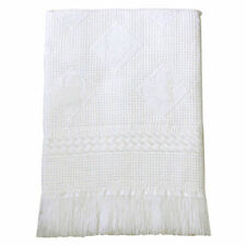Couvertures de lit blanc pour bébé