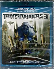 "BLU RAY 3D + BLU RAY+ DVD ""TRANSFORMERS 3"" NEU VERSIEGELT"