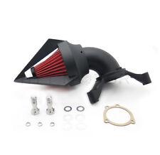 Black Triangle Spike Air Cleaner Intake Kits For Harley Cv Carburetor Delphi V-T