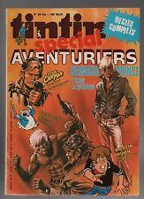 Super Tintin n°2. Spécial Aventuriers.Lombard 1978. Martin Milan, Bernard Prince