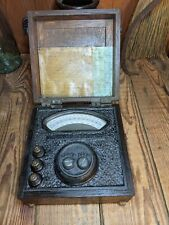 Vintage STEAMPUNK VERY RARE Vintage Wilson-Maeulen Co. Portable Tester cool