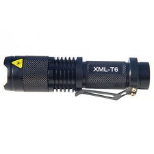 Outdoor CREE XM-L T6 5 Mode 1000LM LED Torch Zoom Flashlight 18650 Charge Lamp