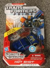 Transformers Prime Hot Shot Skill Level 2 Deluxe Class Snap-On Blasters