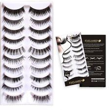 Bella hair 10 Different Styles Quality Fiber Natural False Eyelashes Extensions