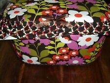 SEWING BASKET BOX  floral design  Large Size VERY PRETTY @LOOK@