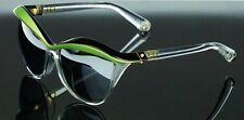 RARE NEW Genuine Christian DIOR Demoiselle1 Black Green Crystal Sunglasses EXO3R