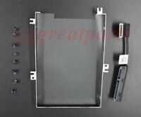 NEW  HDD Cable Connector 80RK8 + Caddy Frame Bracket 04JMFP For Dell Latitude