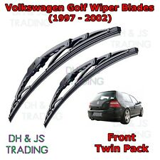 (97-02) VW Volkswagen Golf Mk4 Front Wiper Blades Window Windscreen Set Wipers
