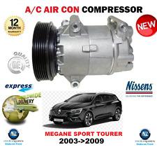 FOR RENAULT MEGANE Mk II SPORT TOURER AIR CON COMPRESSOR 2003->2009 OE QUALITY