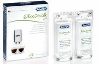 DELONGHI Nokalk Natural Coffee Maker 100ml Descaler Sachets Bean 2 Cup