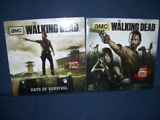 Walking Dead 2014 and 2015 Wall Calendar AMC Sealed