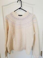 Women's Lauren Ralph Lauren Exclusive Hand Knit Lambswool Sweater Size XL