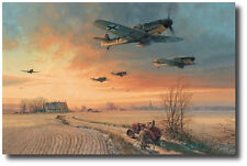 The Long Short Days (Coll Ed) by Robert Taylor- Bf109G - Nine Pilot Signatures