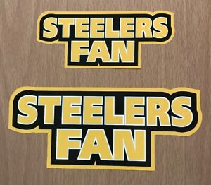 NFL Pittsburgh Steelers Sticker Decal - AFC North Super Bowl Fantasy Football